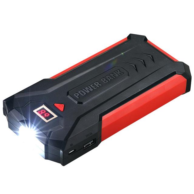 Display LED camping lanterna led Banco Do Poder 20000 mah banco de Potência Dual USB Carregador Rápido de Bateria Externa para o telefone Móvel