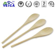 3 pcs of Natural Wood Spoon Spatula Salad Spatulas Non-stick Pan Scoop Kitchen Accessories Cooking Tools