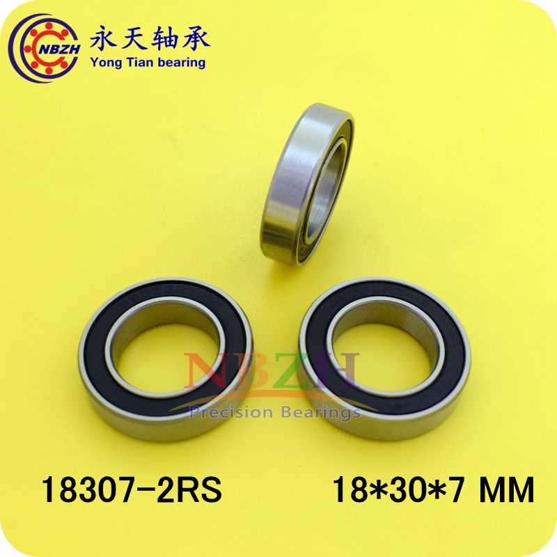 10PCS Bearing 18307 6903/18-2RS 18*30*7 Bicycle bearing Shielded Deep Groove Ball Bearings Single Row MR18307 gcr15 6326 zz or 6326 2rs 130x280x58mm high precision deep groove ball bearings abec 1 p0