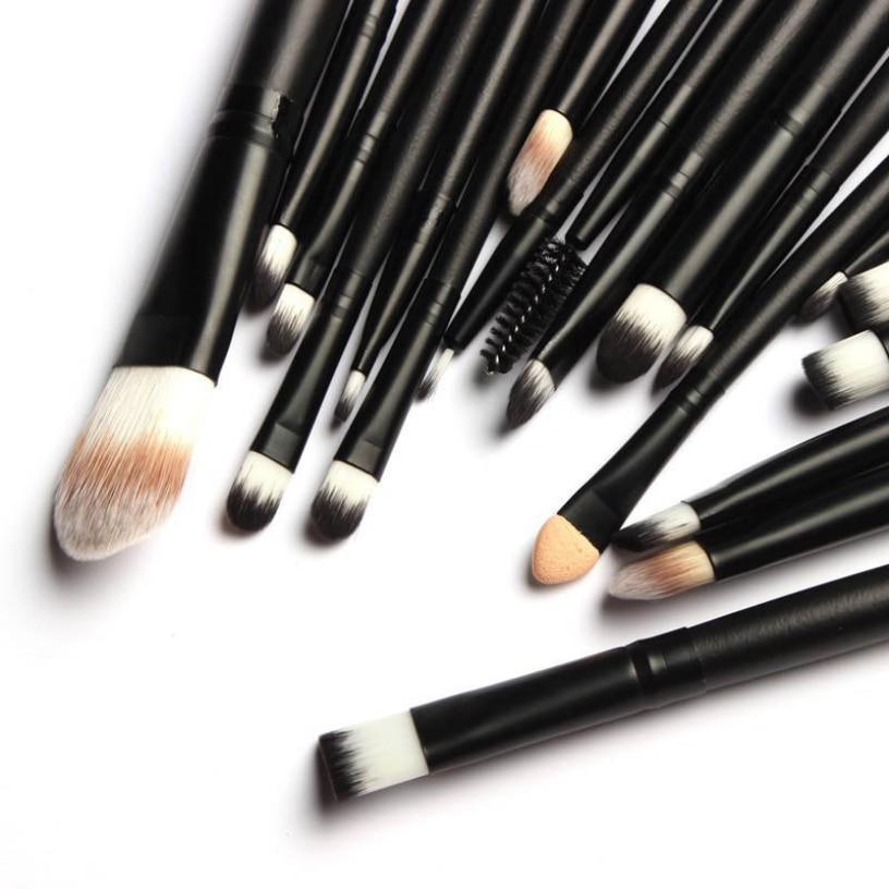 Best Deal New Good Quality 20PCS Makeup Brush Set Cosmetic Tools Eye Shadow Pen Eyeliner Eyelash Brush Gift 1 Set dropshipping клей активатор для ремонта шин done deal dd 0365