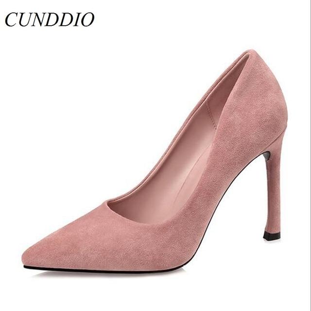 a269f3032 Sapatas das mulheres Bombas moda Coreano Ponta fina com sapatos de Salto  Alto boate Sexy Sapatos