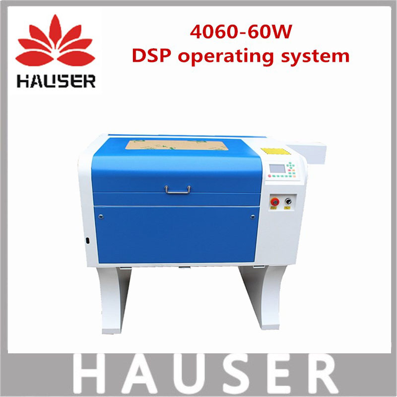 Free Shipping HCZ 60w co2 laser CNC 4060 laser engraving cutter machine laser marking machine mini laser engraver cnc router diy free shipping 4040 cardboard plates machine laser cutter 50w