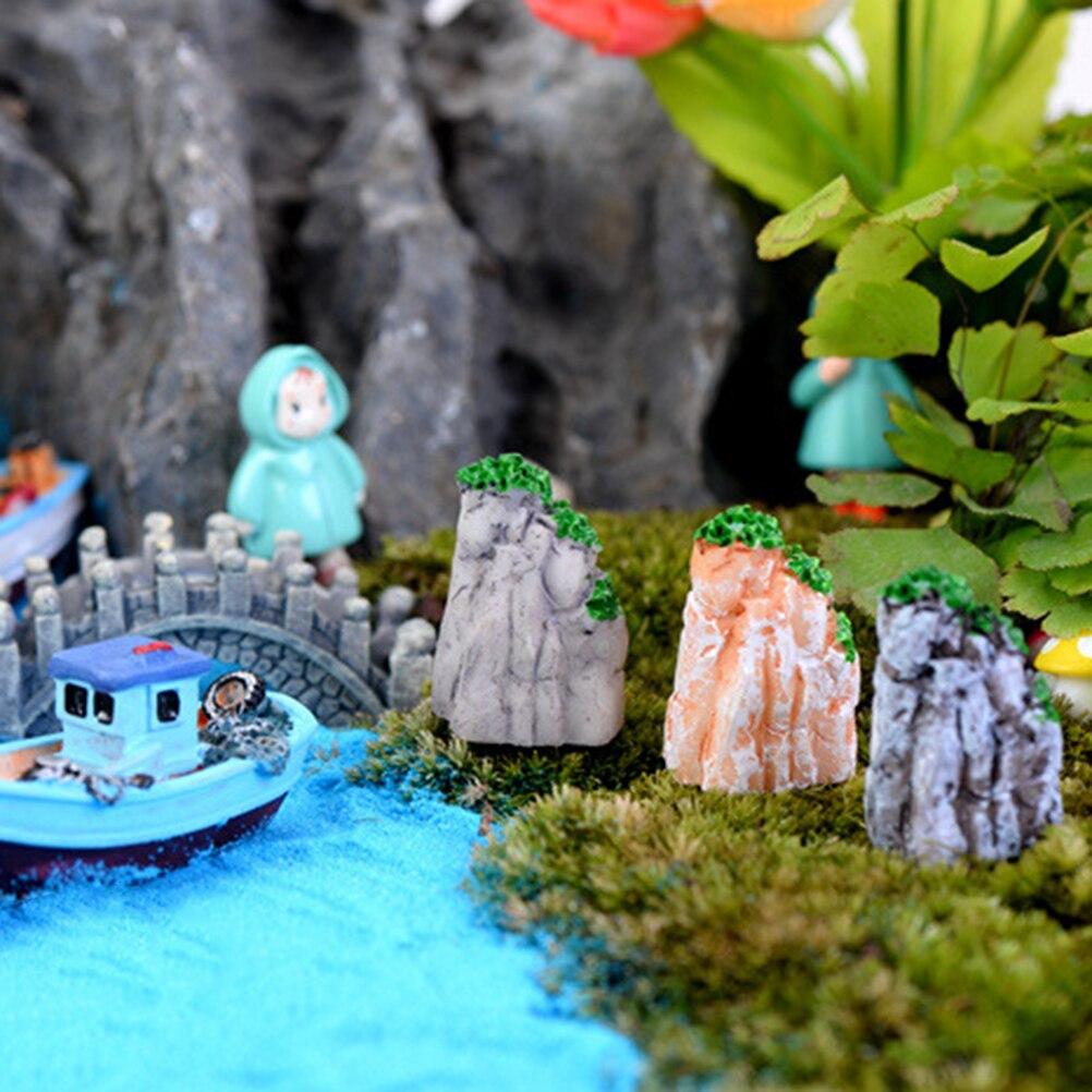 Gnome In Garden: Aliexpress.com : Buy 1PCS Mini Rockery Boat Stakes DIY