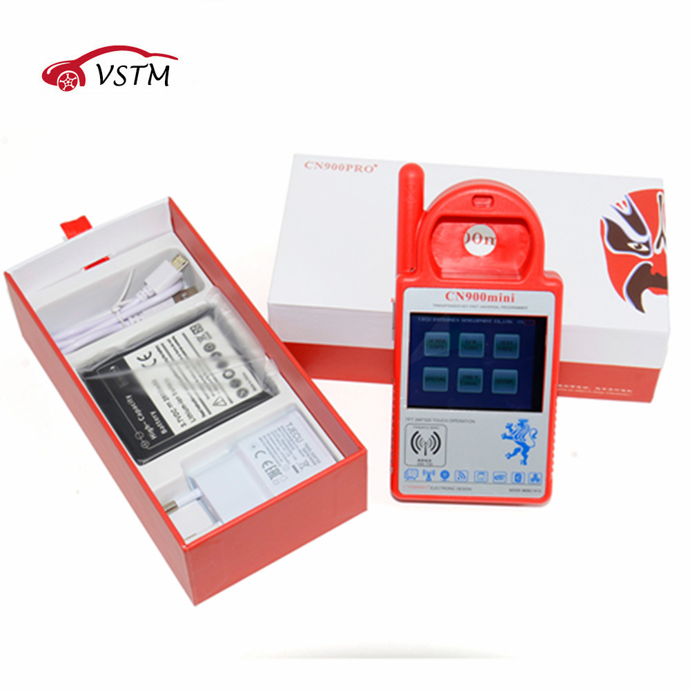 Smart MINI CN900 ND900 Trasponder Key Programmer for 4C 4D ID46 72G Chip Copy Machine Update