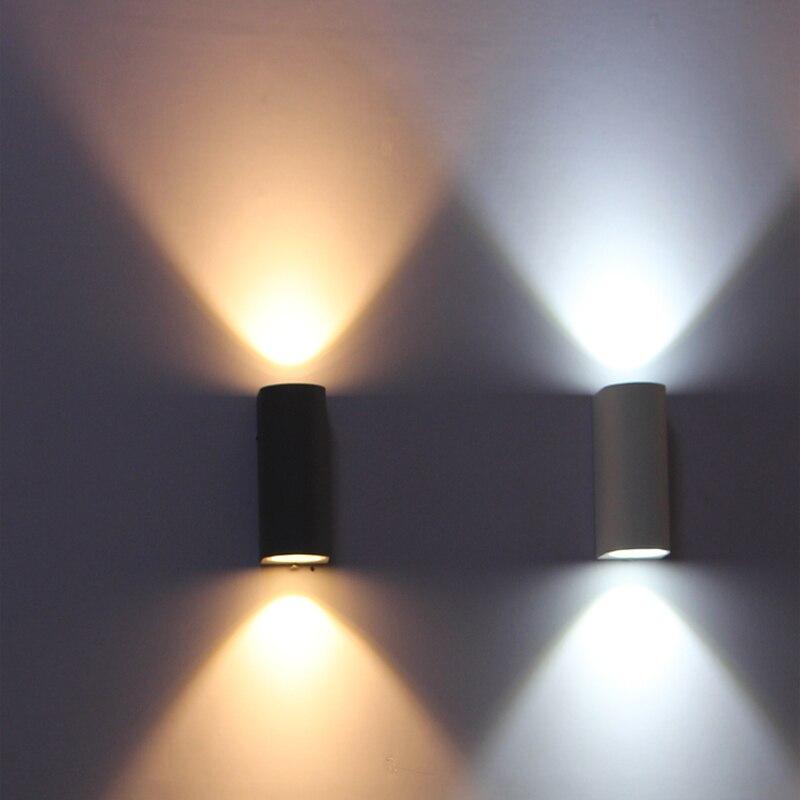 lampada de parede ao ar livre ip65 impermeavel ao ar livre iluminacao de parede luz conduzida