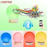 CARPRIE 2019 New Touch Color up Light Wireless Music Lamp With Handsfree Call Bluetooth Speaker Z30408