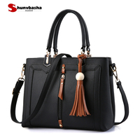 Female Handbag 2017 New Bag Sweet Women Pu Leather Handbag Ladies Stereotypes Fashion Handbag Crossbody Messenger