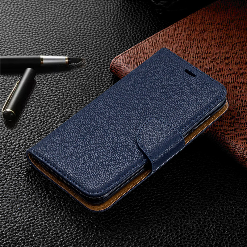 Image 2 - Y5(2019) Case Leather Flip Case on for Huawei Y5 2019 Coque Wallet Magnetic Cover for Huawei Y5 2019 Y 5 Prime 2018 Phone Cases-in Flip Cases from Cellphones & Telecommunications