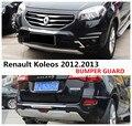 Автомобильный бампер для Renault Koleos 2012 2013 бампер пластина высокого качества ABS Передние + задние автомобильные аксессуары