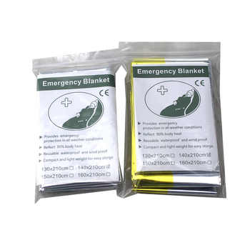 Wholesale 300pcs/lot Waterproof outdoor Emergency Survival Foil Thermal First Aid Rescue Blanket - SALE ITEM - Category 🛒 Home & Garden