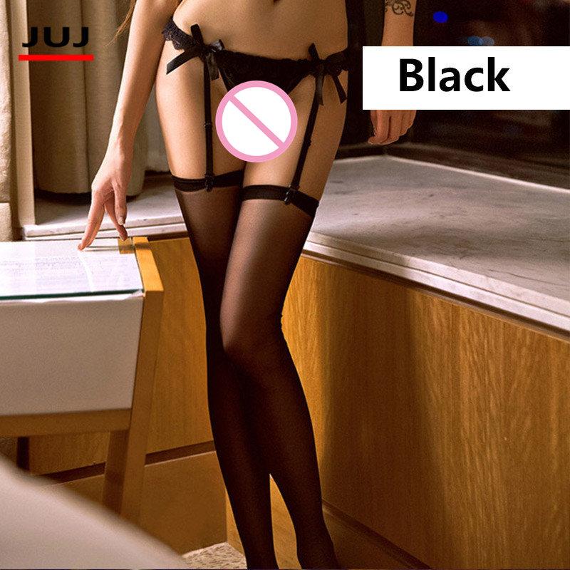 2018Hot seksikäs sukkanauhavyö sukkasetti naisten sukat pelkkä verkko pitsihousut top polven yläpuolella eroottinen nailonit alusvaatteet sukkanauha sukkahousut