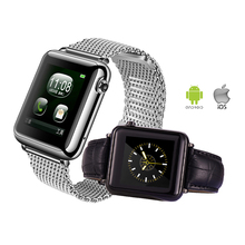 Bluetooth Smart Watch Fitness Tracker Männer Frauen Mode Armbanduhr für Samsung Sony LG iPhone Smartwatch mit Schlaf-monitor