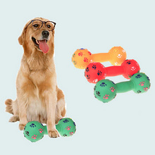 1 piece dog products training toys pet Rubber Bone Chewing Toys Muticolor Pet Puppy Chewing Toy