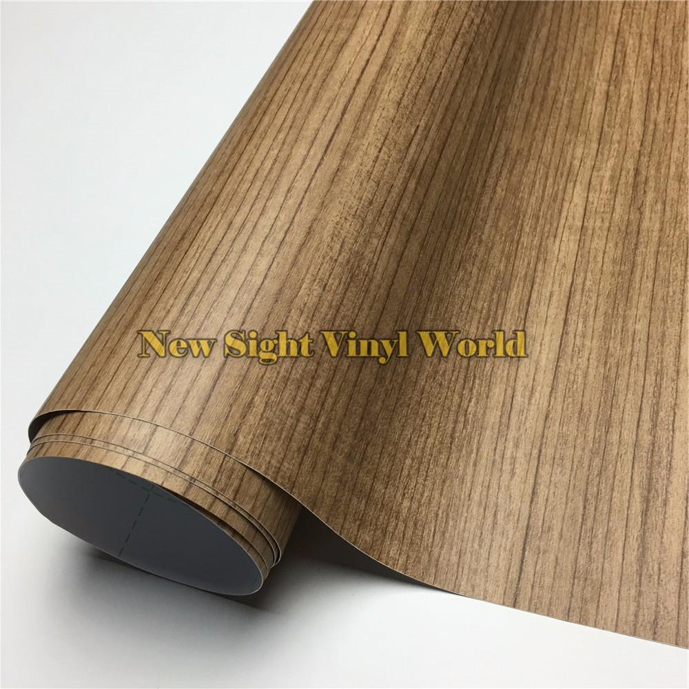 Teak-Car-Wood-Grain-Vinyl-Wrap-Film (2)