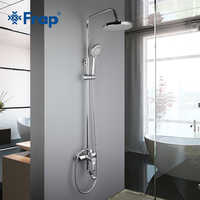 Frap Shower Faucet Bathroom Rainfall Shower Faucet Set Mixer Tap With Hand Sprayer Wall Mounted Bath Shower Sets Single Handle
