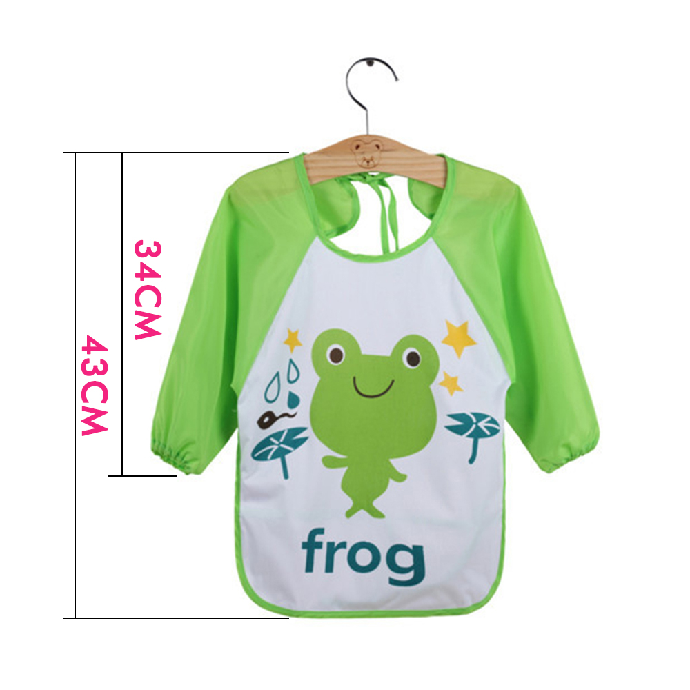 Cartoon Animals Baby Bibs Waterproof Fashion Cute Baby Feeding Stuff Baby Bibs Girls Boys Kids Bebe Clothes Baby Accessories in Bibs Burp Cloths from Mother Kids