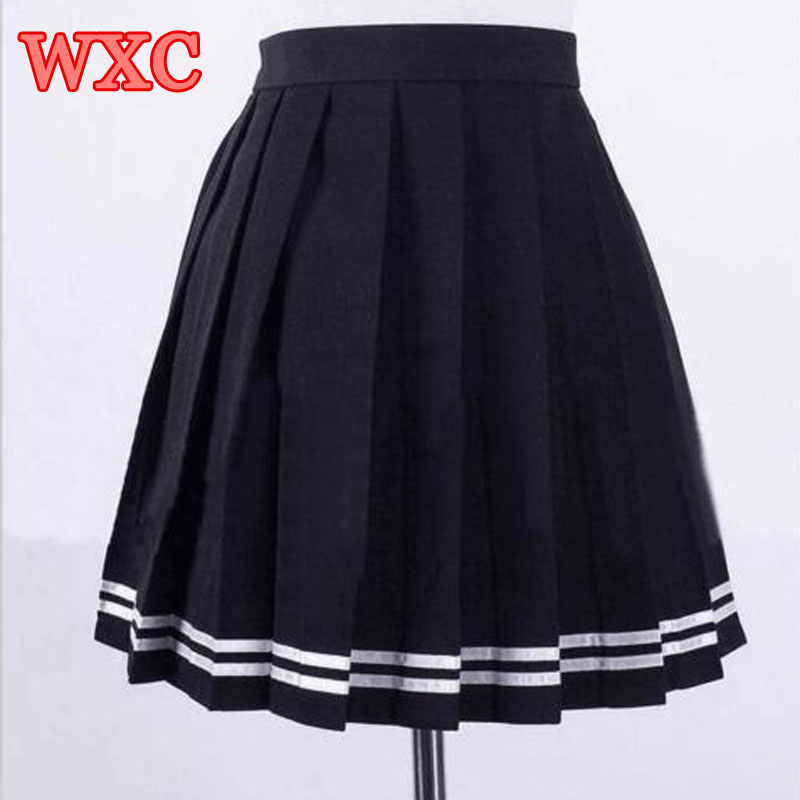 Aliexpress.com : Buy Japanese High Waist Pleated Skirts Anime ...