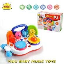 Heißer Klaviertastatur Frühen Bildungs-spielzeug Baby-karikatur DJ Player Spielzeug Musikinstrument Spielzeug YQ88105