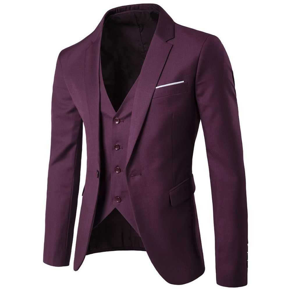 最新コートパンツのデザインスーツ花婿の付添人メンズ結婚式のスーツ最高男性テーラードスーツ (ジャケット + パンツ + ベスト) terno Masculino 赤 6XL