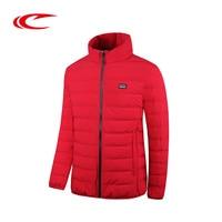 SAIQI Eiderdown Skiing Jacket Men Autumn Winter Ski Jacket White Duck Down Coat Warm Clothes Outdoor Running Jackets Down Coat
