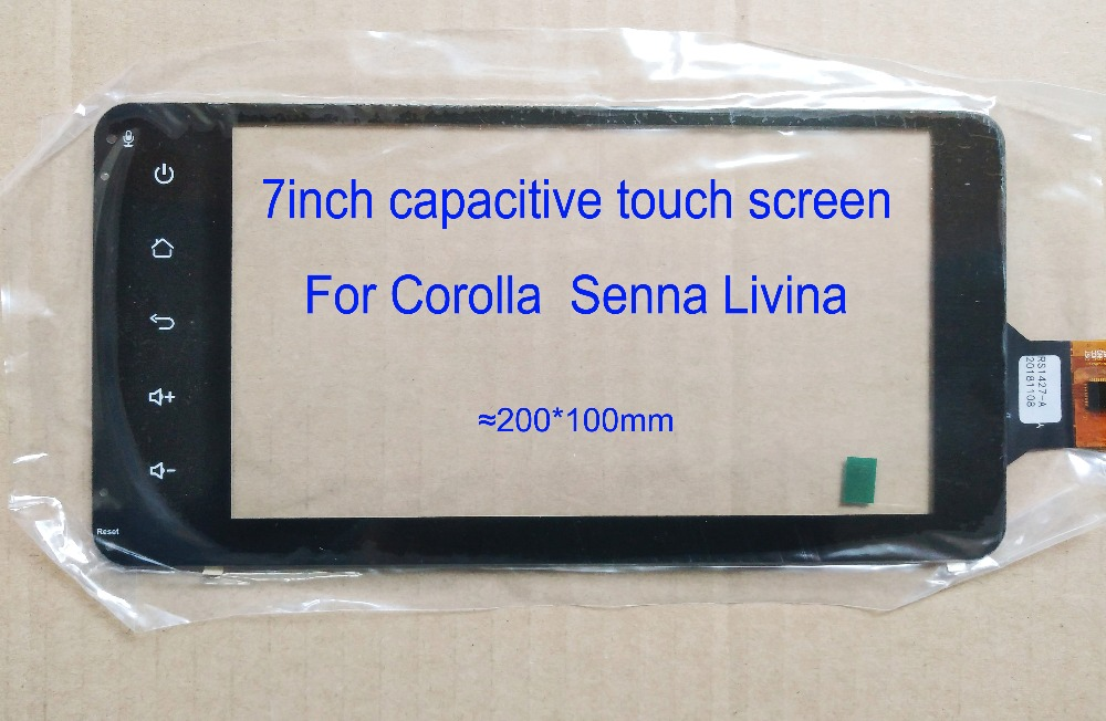 7 Inch Touch Screen For Corolla Senna Livna Dedicated touch screen 200*100mm 6pin GT911-in Car PC from Automobiles & Motorcycles    1