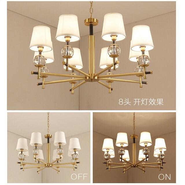 Moderne Kristall Kronleuchter Leuchte Kristallkugel Hängelampe Für Foyer  Esszimmer Restaurant Lüster Decor Beleuchtung