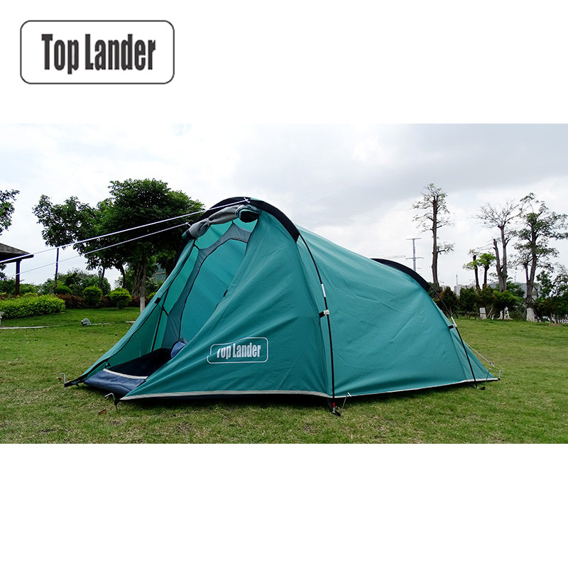 Outdoor Tunnel Tent 4 Season One Bedroom Double Layers Tourist Waterproof Beach Tents 2 Person Hiking Camping Tent tourist season