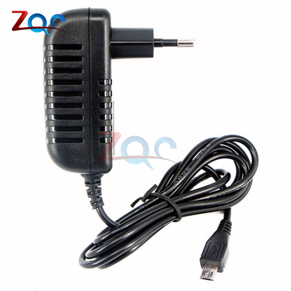 100-240V 110V 220V AC to DC <font><b>5V</b></font> Power <font><b>Adapter</b></font> Supply Charger <font><b>Adapter</b></font> <font><b>5V</b></font> 3A EU Plug for Switch LED Strip Lamp image