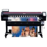 Máquina de impressão do quadro de avisos do vinil do sinal do plotador da impressora de 1600mm ecosolvente 1.6m de formato largo plotter de impressão digital 1440dpi