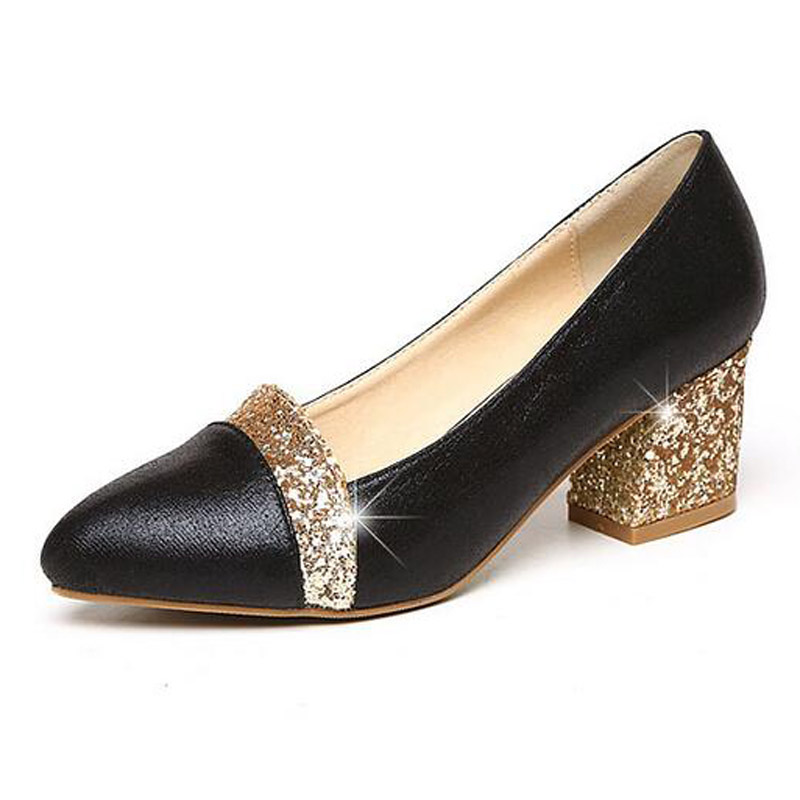 Glitter High Heels 2017 Bling Pumps Gold Platform Women Shoes Casual Slip On Wedding Shoes Woman Size 35-41 phyanic bling glitter high heels 2017 silver wedding shoes woman summer platform women sandals sexy casual pumps phy4901