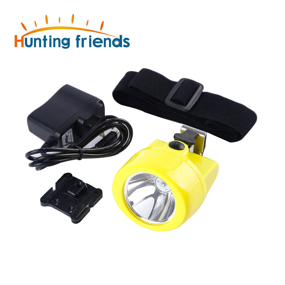 Wireless Mining Headlamp KL3.0LM Waterproof LED Cap Lamp Explosion Rroof Light Rechargeable Flashlight
