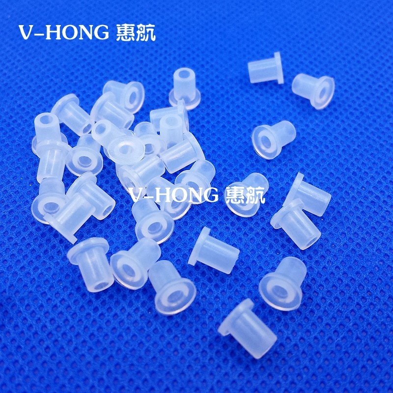 4MM sealing plug part Elbow Ring Silicone rubber Sealed air vent Printer Supplies Accessories Cartridge for deskjet printers