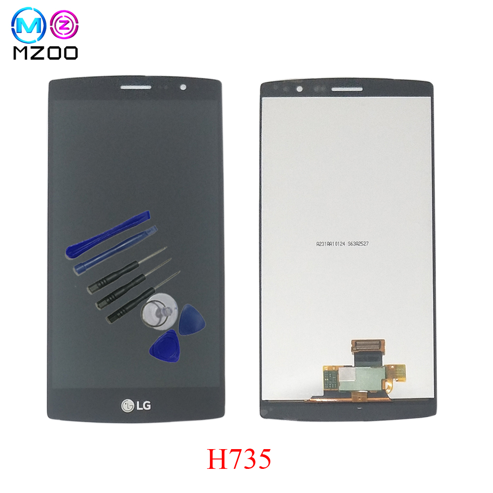 For LG G4 mini G4 Beat G4S H735 H735TR H735T H736 H736P H734 H731 H735DS LCD Display Touch Screen Digitizer Assembly With Frame