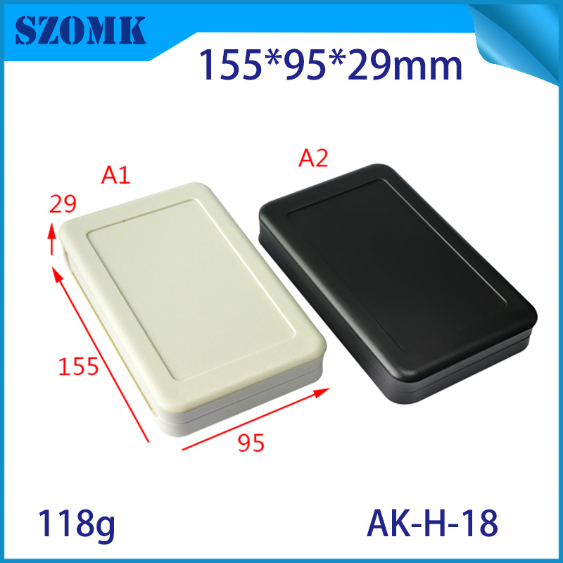 SZOMK abs material new arrived plastic electronic enclosure boxes diy plastic electronics junction box housing for electroni 1 pcs szomk electronics boxes instrument waterproof enclosure 290 190 140mm electrical junction box abs switch box