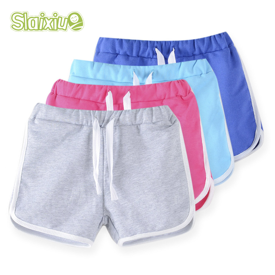 3-13Y Pure Color Kids Boys Girls Sport Underwear Shorts   Panties   Soft Cotton Baby Boxer Children's Clothes Teenager Underwear
