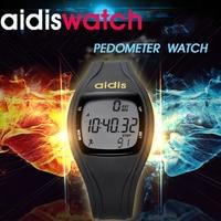 Men And Women Running Pedometer Watch Luminous Alarm Clock Waterproof Function Student Wristwatch Electronic Watches Kid