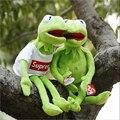 """15 """"Kermit Мягкая Детские Плюшевые Игрушки С Clohes Провода Pelucia Juguetes Детские Игрушки"""