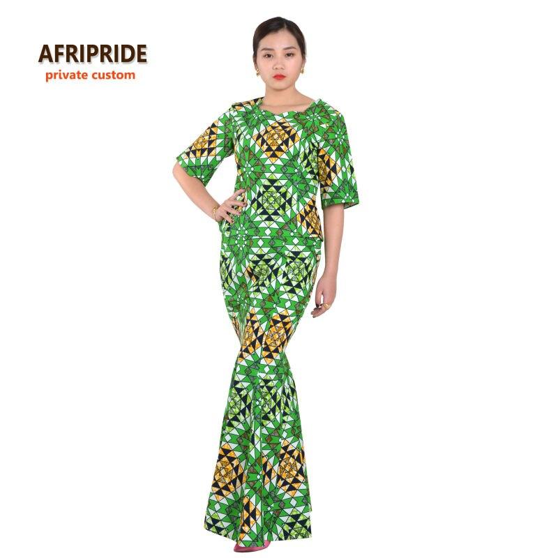 Klasična afrička odjeća za žene dvodijelna haljina party set - Nacionalna odjeća - Foto 2
