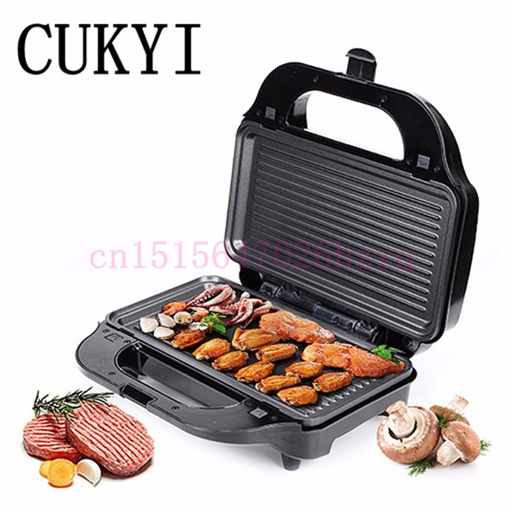 CUKYI Household multifunctional waffle machine muffin pancake breakfast sandwich steak machine cukyi high quality slow cooker household steam stew multifunction birdsnest pregnant tonic baby supplement nutritious breakfast