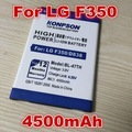 4500mAh BL-47TH Replacement Li-ion Battery for LG OPTIMUS G Pro 2 F350 / F350S / D837 / D838 / LTE-A F350L / F350K battery
