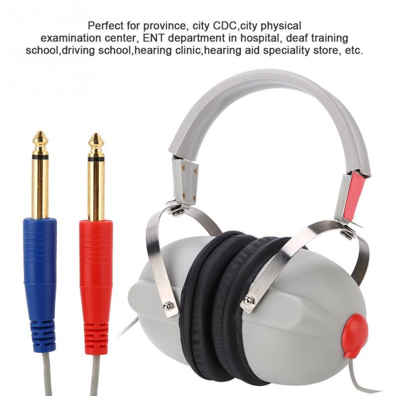 Audiometer Audiometric Hearing Screening Headphone Air Conduction Audiometer Ear Care Tool for Hearing Test цена