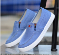 Free shippi New 2017 Spring Summer Men canvas Shoes Fashion Breathable Shoes Slip on Mens Casual Shoes Men Flats Plus size 39-44