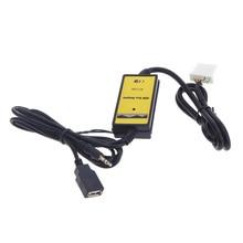 Car Style 3.5mm USB Auto Car Aux In Adapter MP3 Player Cable Radio Interface Cable Fit For Mazda 323/3/5/CX7/MX5/MPV/Miata
