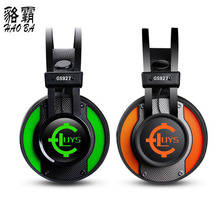 NEW Wired Anti-noise Dazzle Lights Stereo Gaming USB7.1 Headset For PC pc Glow Headphones