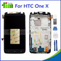 Original Replacement Parts For HTC ONE X / XL S720e G23 LCD Display Touch Screen Digitizer with Frame Assembly+Tools