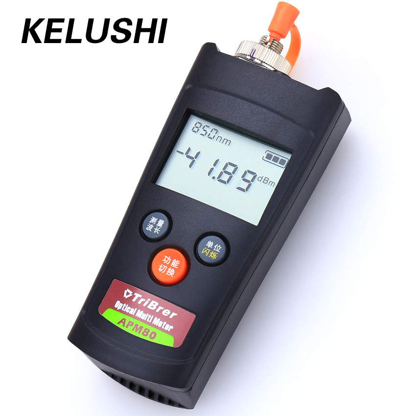 KELUSHI FTTH 2 in1 Handled fibra ottica Power Meter APM-80T -70 ~ + 60dBm 1310/1490 / 1550nm cavo strumento di test Visual Fault Locator