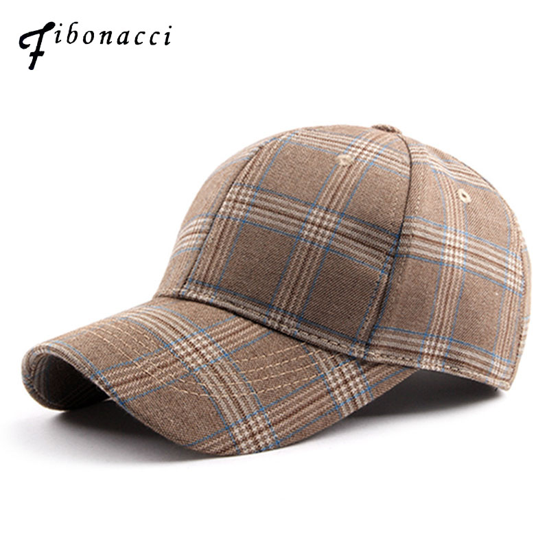 2018 New Plaid baseball caps snapback spring summer hat comfortable casual baseball casquette homme dad hat cap men 35colors silver gold soild india scarf cap warmer ear caps yoga hedging headwrap men and women beanies multicolor fold hat 1pc