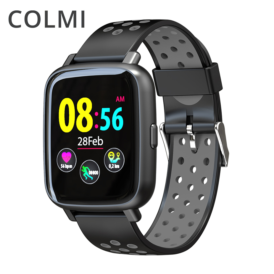 COLMI Smartwatch SN12 IP68 Waterproof Real-time Heart Rate Monitor Blood Pressure Smart Watch Swimming Bluetooth Sport Men Clock