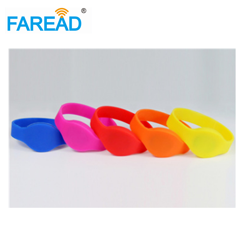 X100pcs Free Shipping Rfid  Wristband Bracelet  UHF Alien H3