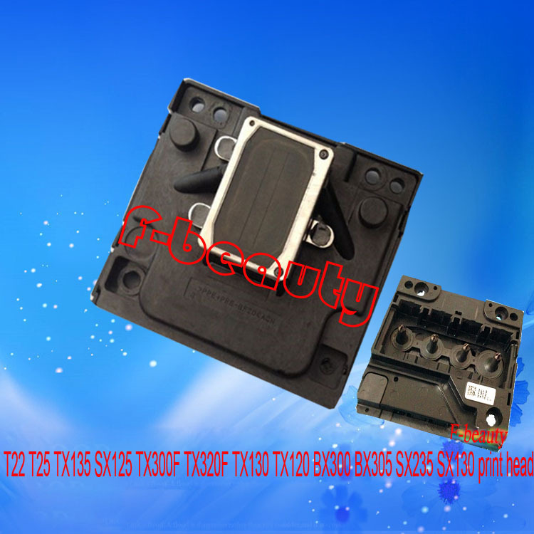 ФОТО New Original Print Head Compatible for EPSON T22 T25 TX135 SX125 TX300F TX320F TX130 TX120 BX300 BX305 SX235 SX130 Printer head